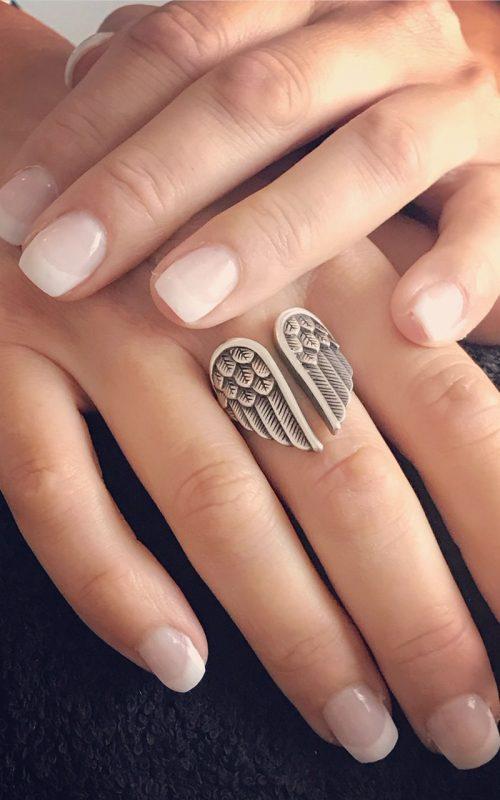 Nagelsalon French manicure